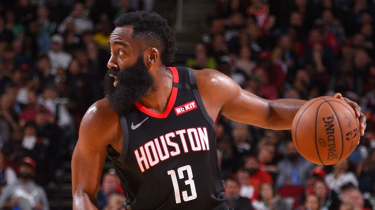 James Harden controls possessions against the Celtics