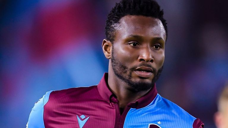 Trabzonspor terminate Mikel's contract over refusal to play amid Covid-19 crisis