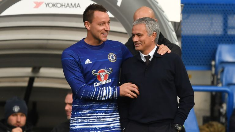 John Terry and Jose Mourinho will be opponents in the dugout when Tottenham travel to Aston Villa
