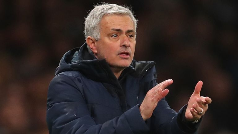 Jose Mourinho still does not have a striker to stand in for Harry Kane