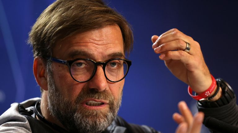 Jurgen Klopp has warned his Liverpool side against complacency as his side prepare to face Atletico Madrid