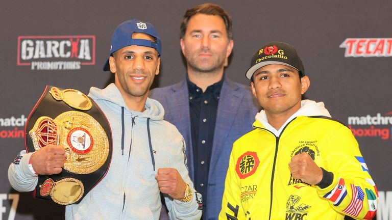 Yafai will test his skills against the hugely respected 'Chocolatito'
