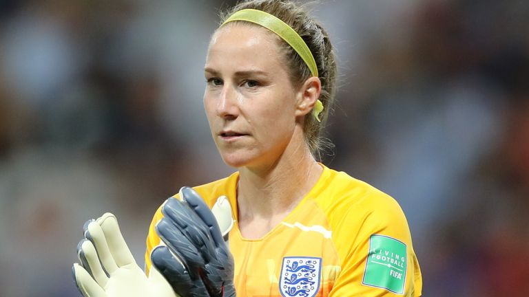 Karen Bardsley kept three clean sheets for England at last summer's Women's World Cup