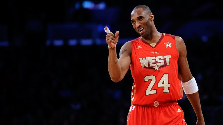 Kobe Bryant of the Los Angeles Lakers and the Western Conference points in the 2011 NBA All-Star Game