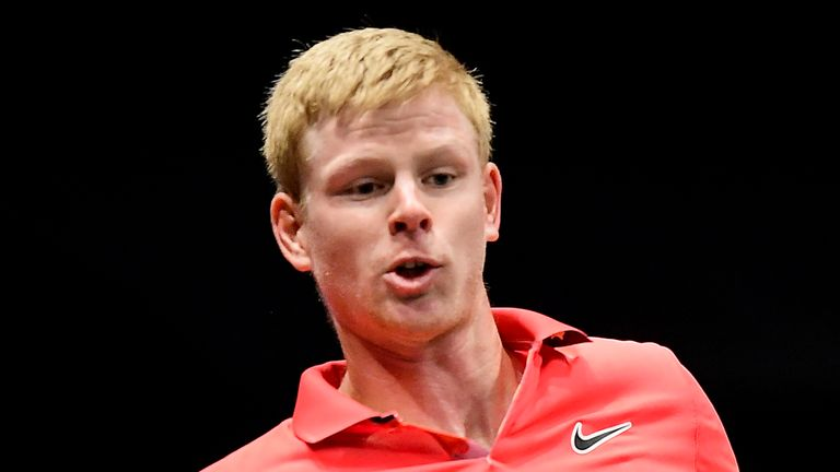 Kyle Edmund beat Andreas Seppi in the final of the New York Open earlier this month