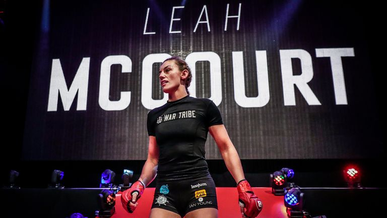 Leah 'The Curse' McCourt - Bellator MMA