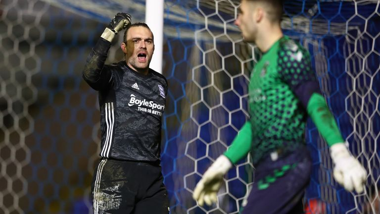 Lee Camp was the penalty hero for Birmingham against Coventry