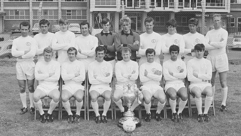 Leeds 1968/69 champions