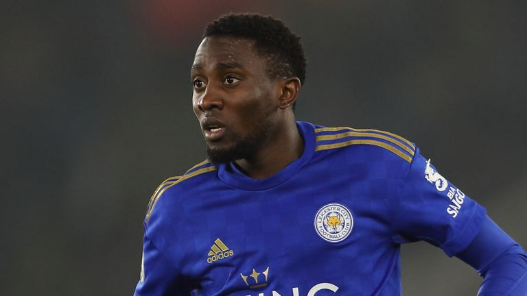 Wilfred Ndidi has been sidelined since Leicester's Carabao Cup semi-final second leg defeat to Aston Villa