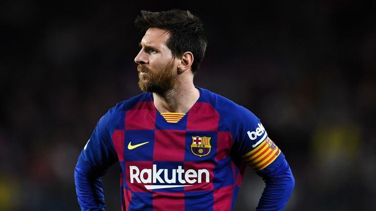 Lionel Messi was involved in a dispute with Eric Abidal after recent performances were questioned by Barcelona's technical secretary
