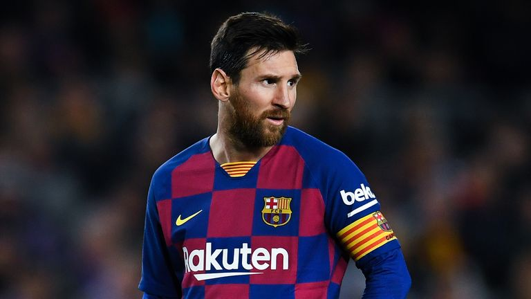 Lionel Messi was involved in a dispute with Eric Abidal