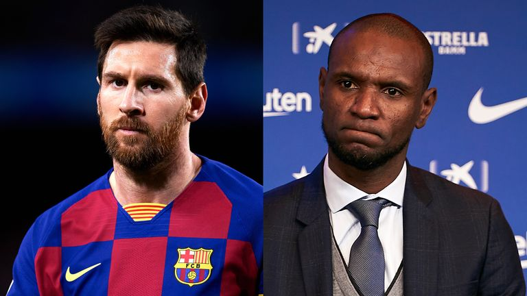 Lionel Messi responded to comments Abidal made to a Spanish newspaper