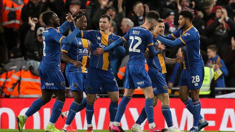 Liverpool 1 0 Shrewsbury Match Report Highlights