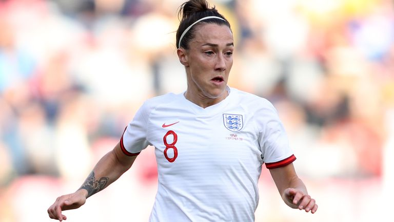 Lucy Bronze in action for England against Norway