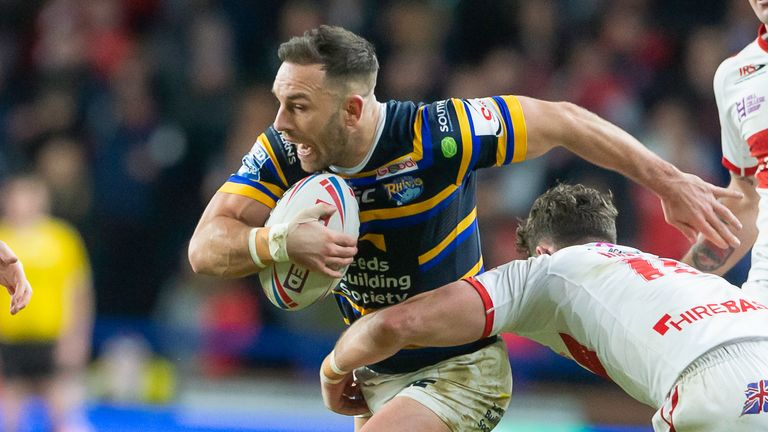Luke Gale skippered Leeds to their first win of the season