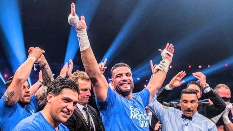Charr defeated Alexander Ustinov on points to claim the WBA 'regular' title