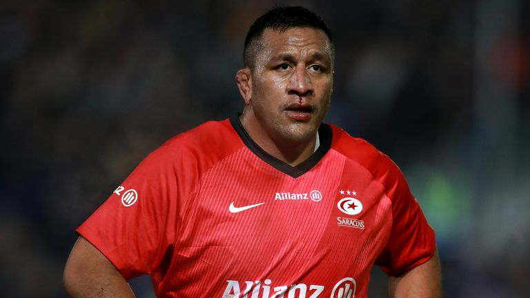 Mako Vunipola signed a new contract at Saracens last month