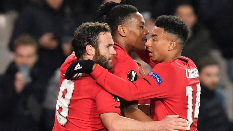 Manchester United travel to Linz in Austria to face LASK in the Europa League on Thursday night
