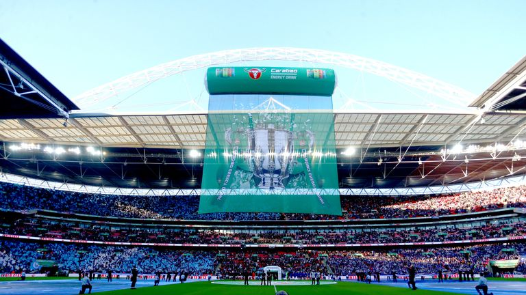 'We probably take Wembley for granted, being the iconic venue that it is'
