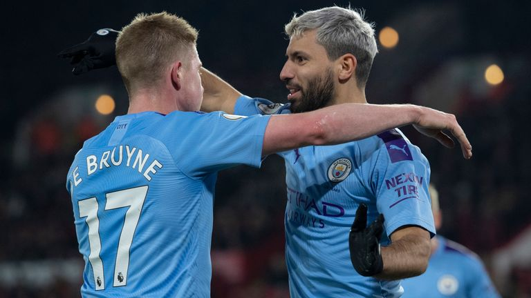 The likes of Kevin De Bruyne and Sergio Aguero are expected to remain loyal to the Manchester City cause