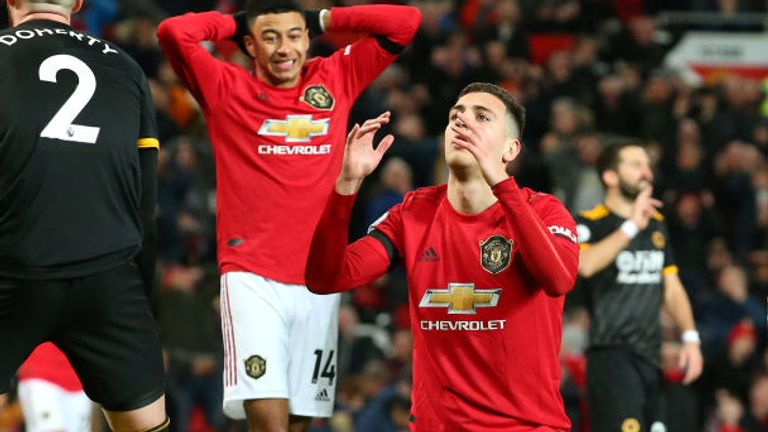 Manchester United couldn't find their way past a resolute Wolves defence