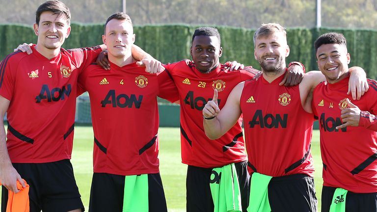 Manchester United went to Malaga during their winter break