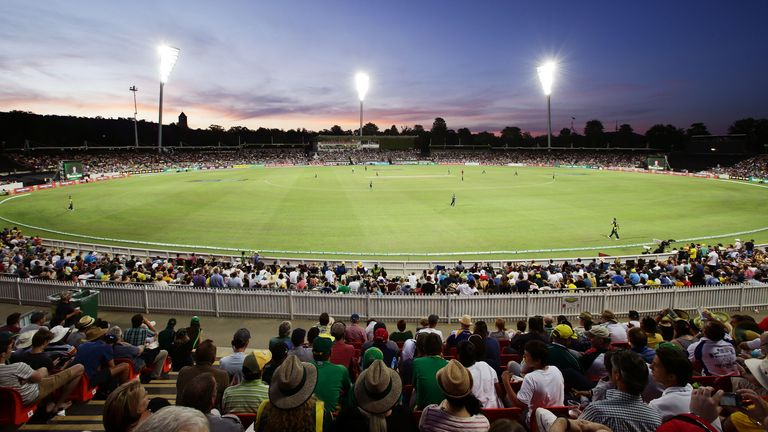 England will play two group games at Manuka Oval in Canberra