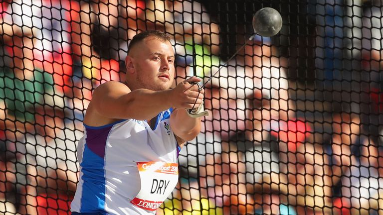 Mark Dry competed at the 2018 Commonwealth Games in Australia
