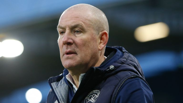 QPR boss Mark Warburton has no new injury concerns ahead of Tuesday night's game