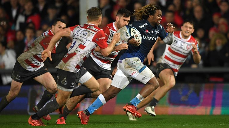 Yarde joined Sale from Harlequins in 2017