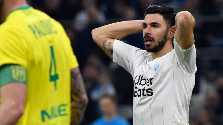 Marseille lost for the first time in Ligue 1 since October