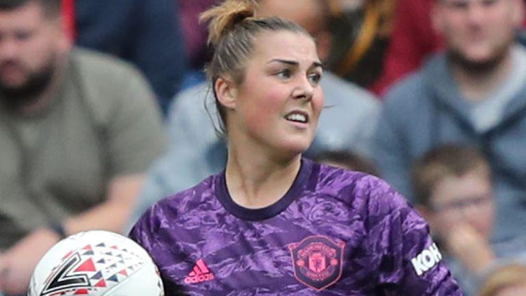 Manchester United Women goalkeeper Mary Earps
