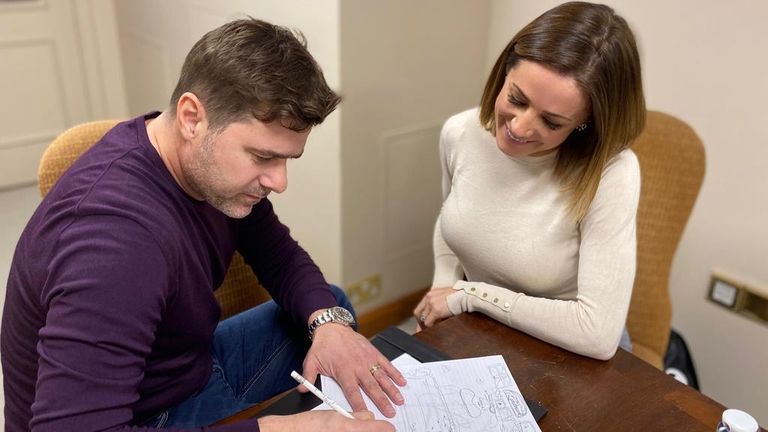 Former Spurs boss Pochettino was a guest on this week's episode of Natalie Pinkham's In The Pink podcast