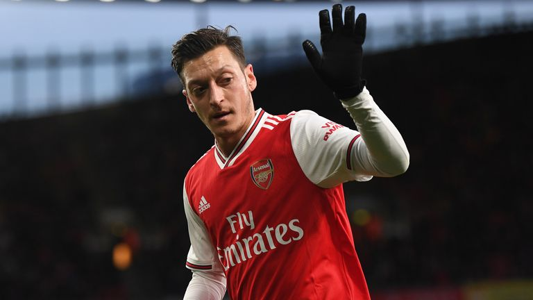 Mesut Ozil shone in Arsenal's 4-0 win over Newcastle