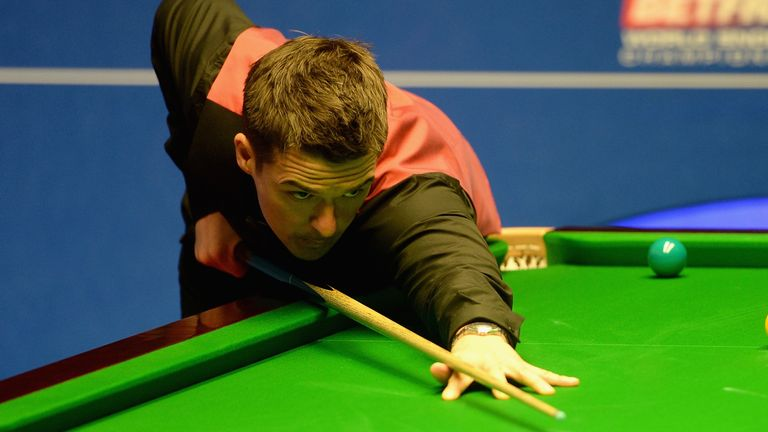 Michael Holt lifted his first ranking title