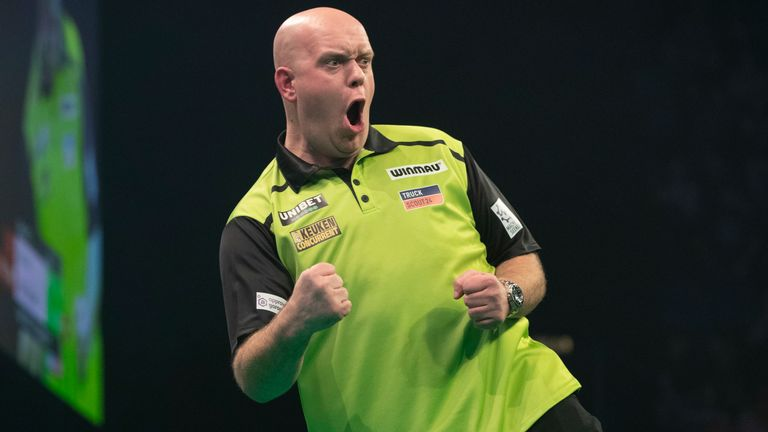 Michael van Gerwen made it two wins from two games to start the defence of his Premier League title in perfect fashion
