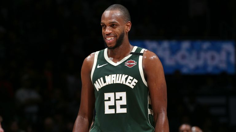 Khris Middleton of the Milwaukee Bucks