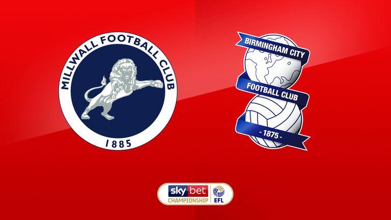 Millwall vs B'ham City