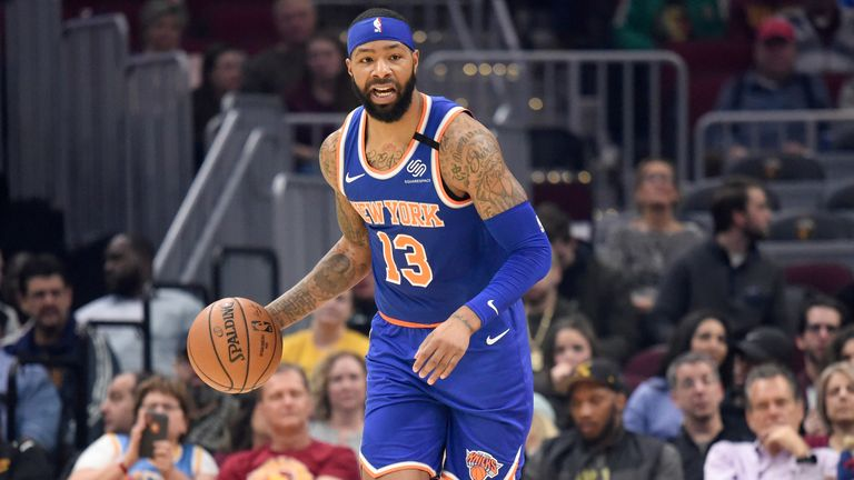 Marcus Morris averaged a career-best 19.6 points in his ninth NBA season