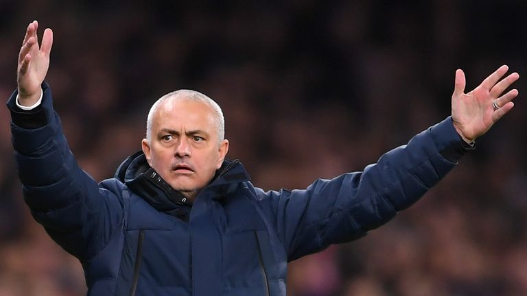 Jose Mourinho says Dele Alli is angry with his own performance against RB  Leipzig, not the Spurs boss | Football News | Sky Sports