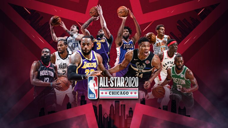 NBA All-Star Game 2020: Team LeBron vs Team Giannis