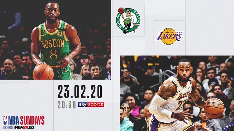 Celtics @ Lakers