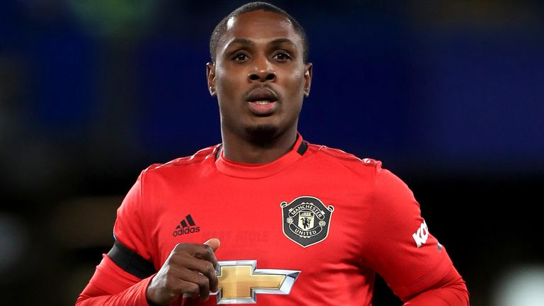 Odion Ighalo has scored four goals in eight games for Manchester United since joining on loan in January
