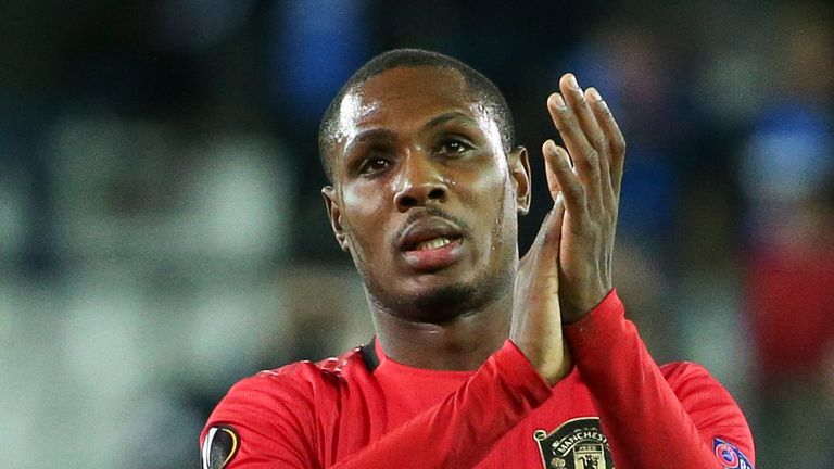 Odion Ighalo has made two substitute appearances for United