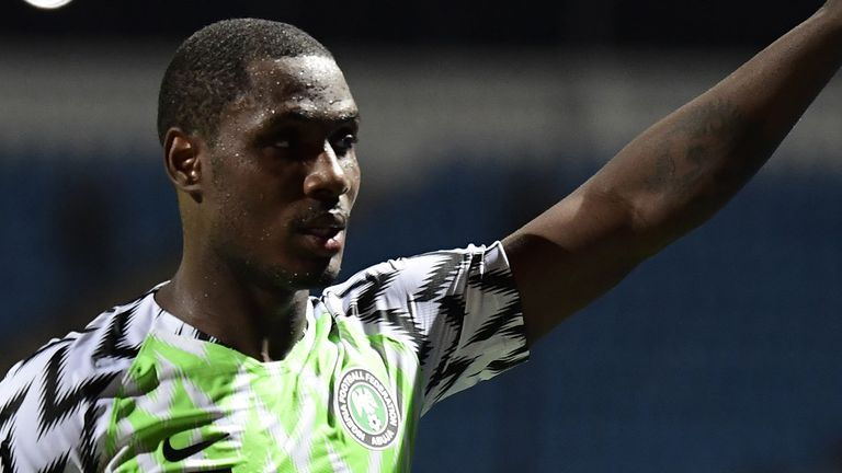 Odion Ighalo signed for United on a six-month loan deal