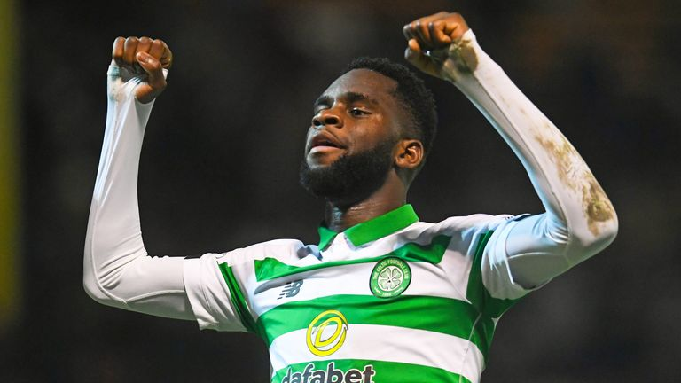 Odsonne Edouard is the top scorer in the Scottish Premiership