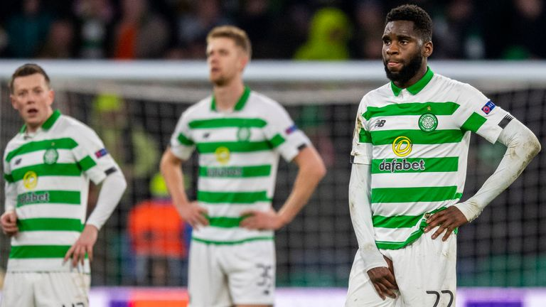 Celtic were beaten late on by Copenhagen at Celtic Park