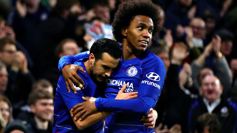 Pedro and Willian extend Chelsea contracts