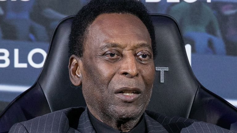 Pele, seen here at a sponsors event last April, has suffered with hip trouble for years