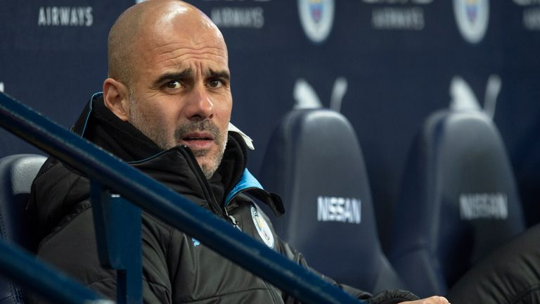 Pep Guardiola's current contract at Manchester City expires in June 2021